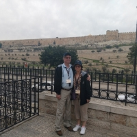 Joe and Mary in Jerusalem